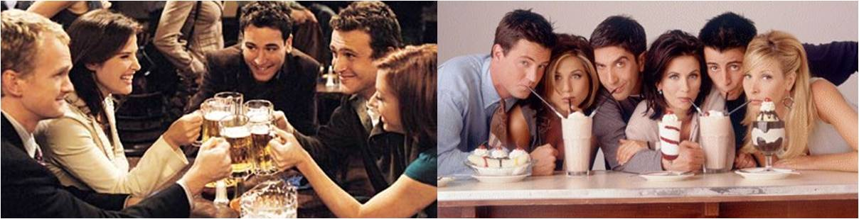 Friends Or How I Met Your Mother Yahoo : Why how i met your mother is better than friends sci fi