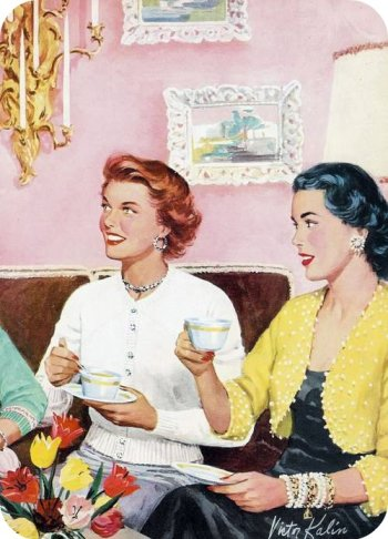 vintage+tea+party