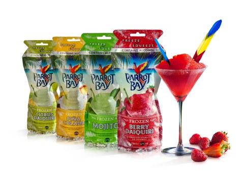 Parrot Bay cocktails