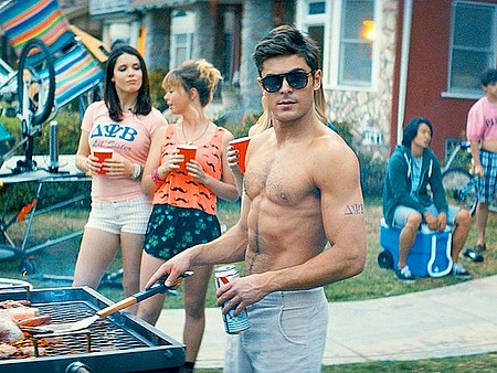 Zac Effron topless Neighbors