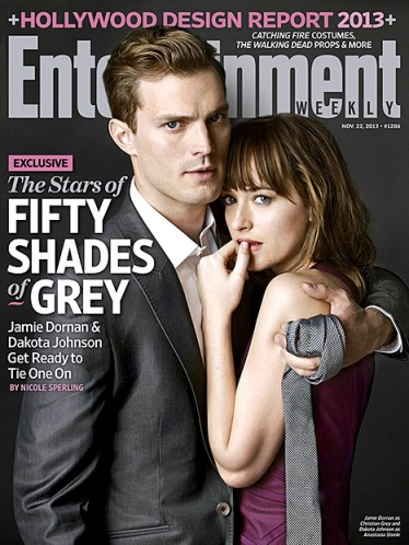 50 Shades of Grey cover Entertainment Weekly