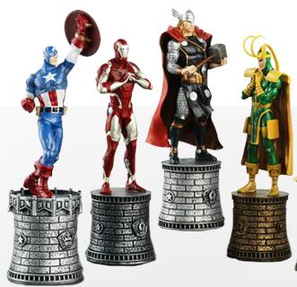 Marvel Chess characters