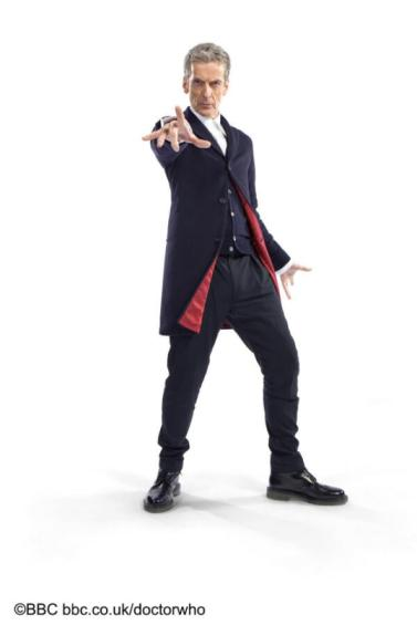 Peter Capaldi Doctor Who costume