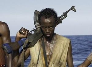 Barkhad Abdi, Captain Phillips BAFTA