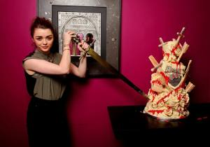 Maisie Williams Red Wedding Cake