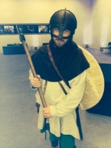 We had a Viking wannabe at the screening