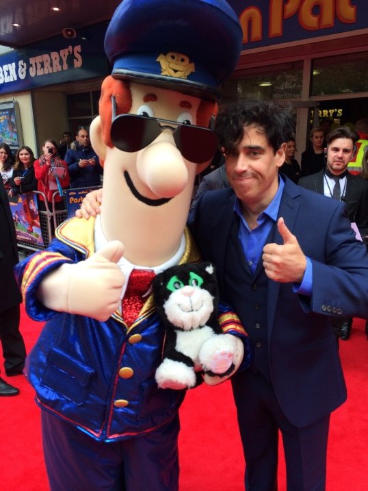 Postman Pat and Stephen Mangan