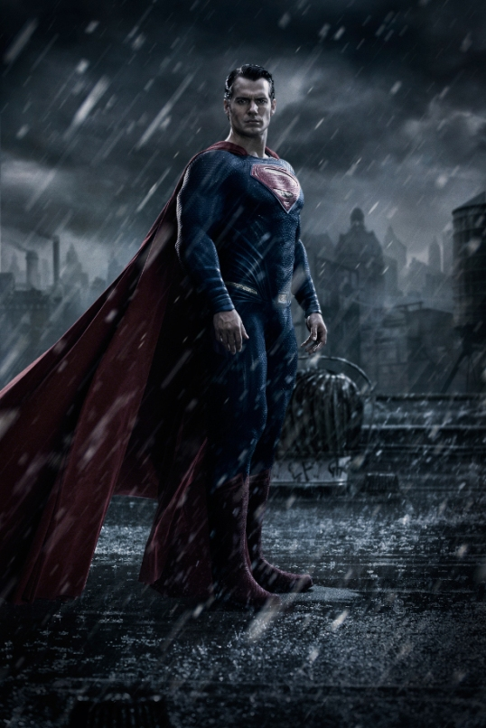 Batman V Superman first look Superman