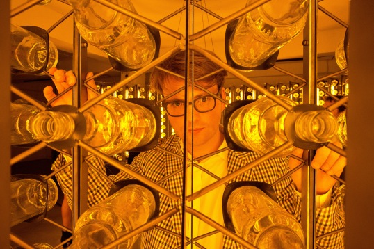 Sebastian Kite through the Bells bottles