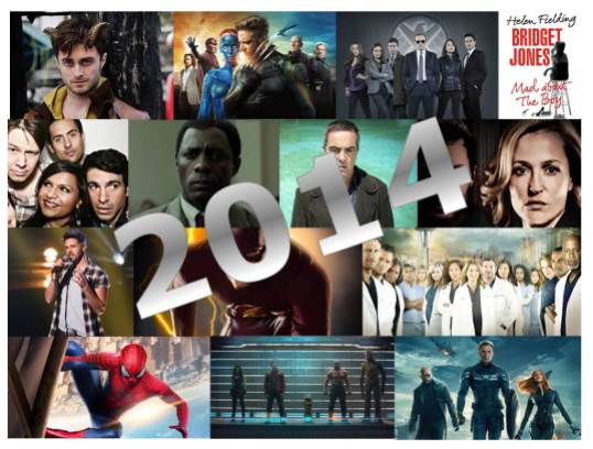 2014 film and TV