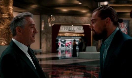 Scorsese, De Niro and DiCaprio ad