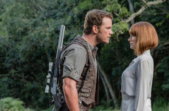 Jurassic World Chris Pratt Bryce Dallas Howard